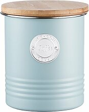 Typhoon - Kaffeedose, Vorratsdose, Aufbewahrungsdose - Typ Living - 1 Litre - Farbe: Blau