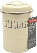 Typhoon Vintage Vorratsdose Sugar 19 cm, creme