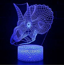 Tyrannosaurus Rex Mark 3D-Lampe LED-Nachtlicht 7