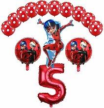 Tyro Luftballons Miraculous Marienkäfer 14