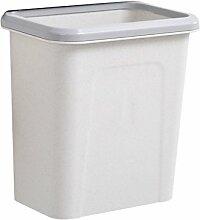 TZAI Haushalt Mülleimer Kann Dicke Kunststoff