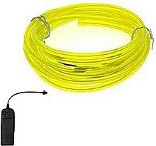 TZCC Flexibles Neonlicht Leuchtstahl Draht
