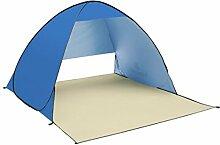 TZQ Im Freien Strand Sonnenschutz Zelte,Blue