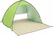TZQ Im Freien Strand Sonnenschutz Zelte,Green