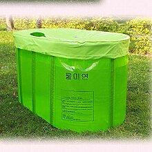 TZQ Tragbare Badewanne Aufblasbare Badewanne Für