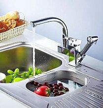 TZYSM Wasserhahn Küche Ausziehbar 3 SprühModus,