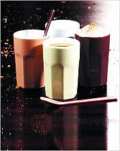 U.S. Espresso Becher Doppelset Weiss