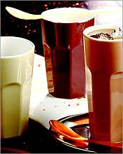 U.S. Latte Becher Doppelset Weiss