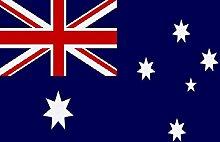U24 Fahne Flagge Australien 150 x 250 cm
