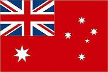 U24 Fahne Flagge Australien Red Ensign 90 x 150 cm