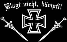 U24 Fahne Flagge Eisernes Kreuz Klagt nicht