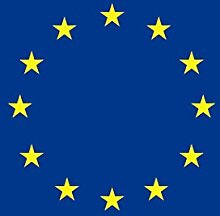 U24 Fahne Flagge Europa 150 x 250 cm