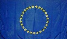 U24 Fahne Flagge Europa 27 Sterne 90 x 150 cm