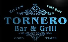 u45326-b TORNERO Family Name Bar & Grill Home Decor Neon Light Sign Barlicht Neonlicht Lichtwerbung