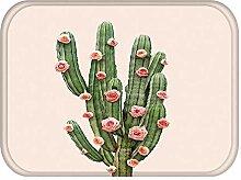 UANOU Kaktus Küche Eingang Fußmatte Anti Slip
