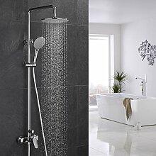 ubeegol Duscharmatur Set Regendusche Duschsystem