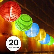 Solar lichterkette au en bunt g nstig online kaufen lionshome - Aussenschalter gartenbeleuchtung ...