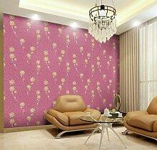UCCUN Neuen feinen Stoff Struktur Wand der Einstellung der Schlafzimmer eine Studie Hintergrundbild von Europa Typ Stil Yulan Tapeten Fashion Pavillon, 7, 53 CM X 10 M
