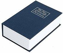 UChic 1 STÜCKE Buch Sparschwein Kreative Englisch Wörterbuch Spardose Aufbewahrungsbox Schlüsselschloss Safe Große Geschenkidee