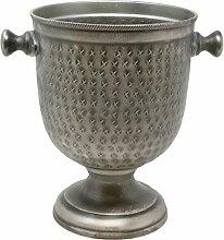 UDIG Metall Pokal, Antik Design, 27 cm/Sektkühler
