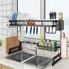 Über Waschbecken Geschirrtrockner, Edelstahl