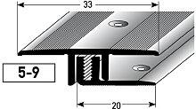 Übergangsprofil / Übergangsschiene Laminat ´´Richmond´´, für...