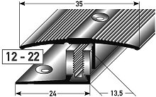 Übergangsprofil / Übergangsschiene Laminat ´´Yorkton´´, 12 - 22...