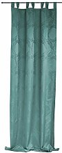 Übergardine Angelina grün 140x245 cm blickdicht