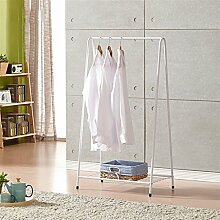 Überlegene Qualität A Typ Trocknen Racks Creative Home Kleiderbügel Kleiderständer (Weiß / 66 * 38 * 120cm) Langlebig / gesund / starkes Lager