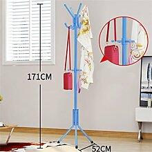 Überlegene Qualität Mantel Racks Schlafzimmer Kleiderbügel Boden Mode kreative Kleidung Regale Eisen Anti-Rost Langlebig / gesund / starkes Lager ( farbe : #7 )