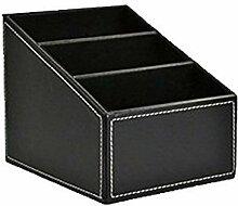 uebertragung - SODIAL(R)Aufbewahrungsbox mit 3-fach (Schwarz)