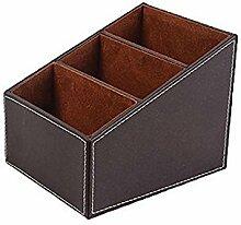 uebertragung - SODIAL(R)Aufbewahrungsbox mit 3 Faechern (Brown)