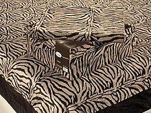 Überwurf-Decke für Doppelbett, Motiv: Savanne,
