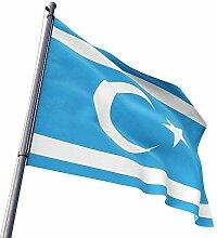 ÜLKÜCÜ Market Flagge Fahne Turkmenen Türkmen