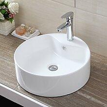 UEnjoy Rund Waschbecken-0300 Design Waschschale