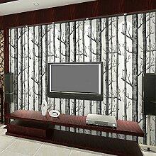 Ufengke® 3D Modern Minimalistische Geäst Muster PVC Tapeten Wandbilds Für Studie Wohnzimmer Schlafzimmer TV Hintergrund