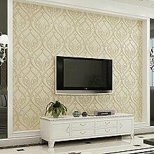 Ufengke® 3D Relief Europäischer Stil Geprägt Vliesstoff Tapeten Wandbilds Für Restaurant Cafes Wohnzimmer Schlafzimmer TV Hintergrund