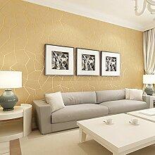 Ufengke® 3D Relief Modern Minimalistischeische Abstrakte Linien Vliesstoff Tapeten Wandbilds Für Restaurant Cafes Wohnzimmer Schlafzimmer TV Hintergrund