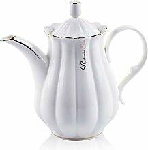 ufengke 51oz Porzellan Kaffeekanne