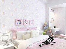 ufengke Cartoon Bär Schmetterling Muster Vliesstoff Kinder Tapeten Wandbilder Babykunstdekoration Für Kinderzimmer Kinderzimmer