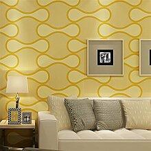 Ufengke® Europäischer Stil Abstrakte Linien Muster Dicker Vliesstoff Tapeten Wandbilds Für Restaurant Cafes Wohnzimmer Schlafzimmer TV Hintergrund