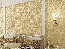 ufengke European Damaskus Extradicke 3D Geprägte Vliesstoff Tapeten Wandbild Für Wohnzimmer Schlafzimmer TV Hintergrund