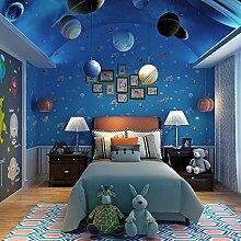 Ufengke® Karikatur Stil Das Unterwasser Welt Marine Tiere Vliesstoff Tapeten Wandbilds Kunst Dekoration Für Kinderzimmer Studie Schlafzimmer Wohnzimmer