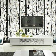 Ufengke® Modern Einfach Persönlichkeit Geäst Laub Vliesstoff Tapeten Wandbilds Für Studie Wohnzimmer Schlafzimmer TV Hintergrund