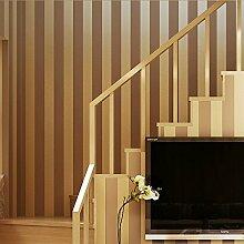 Ufengke® Modern Einfache Vertikale Streifen Geprägt Beflockung Vliesstoff Tapeten Wandbilds Für Hotels Studie Wohnzimmer Schlafzimmer TV Hintergrund