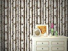 Ufengke® Modern Minimalistische Birke Baum Muster PVC Tapeten Wandbilds Für Studie Wohnzimmer Schlafzimmer TV Hintergrund