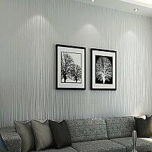 ufengke Moderne Simple Dick Reine Farbe Vliesstoff Streifen Tapeten Wandbild Für Wohnzimmer Schlafzimmer TV Hintergrund