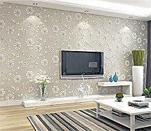 ufengke Pastoralen Stil Reben 3D Vliesstoff Garten Blumenmuster Tapeten Wandbild Für Wohnzimmer Schlafzimmer TV Hintergrund