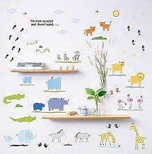 Wandsticker Kinderzimmer Tiere Gunstig Online Kaufen Lionshome