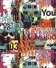 UGEPA Papiertapete, mehrfarbig, J46503